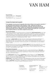 Vorbericht - VAN HAM Kunstauktionen