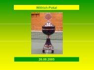 Willrich-Pokal 26.08.2005 - TTC Grün-Gelb Braunschweig eV