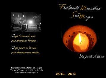 Settembre - Fraternità Monastero San Magno