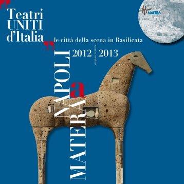 Scarica il programma - Associazione Culturale Incompagnia MATERA