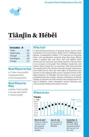 China - Tianjin & Hebei (Chapter)