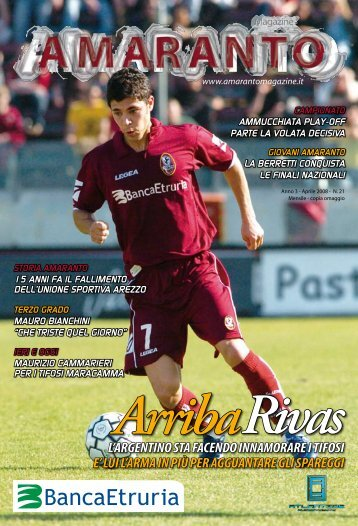 Amaranto magazine aprile 2008