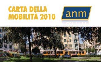 Carta della Mobilità 2011 - Anm