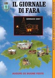Edizione di gennaio 2007 - Comune di Fara Vicentino