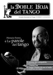 scarica la rivista in pdf - Il tango argentino a Roma