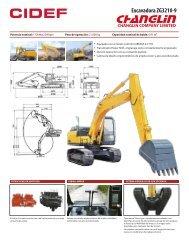 Excavadora ZG3210-9 - Cidef Maquinarias