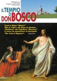 """Gesù le disse: """"Maria!"""" Ella si voltò e gli disse in ... - Colle Don Bosco"""