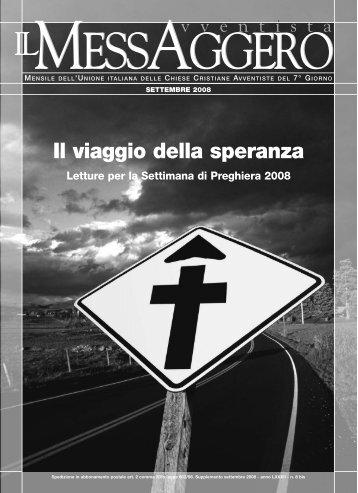settimana di preghiera-2008 - Avventisti del Settimo Giorno