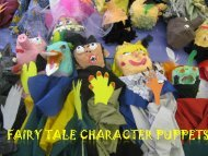 FAIRY TALE CHARACTER PUPPETS