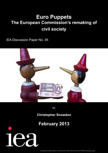 Download Euro Puppets - Institute of Economic Affairs