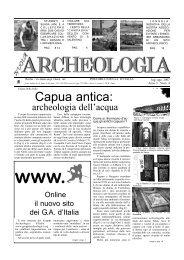 Capua antica: - Gruppi Archeologici d'Italia