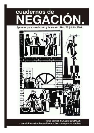 Cuadernos de Negación N°2:Clases sociales o la maldita ...