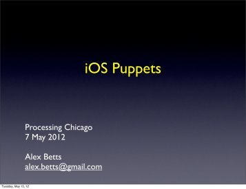 iOS Puppets