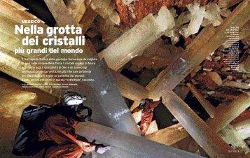 Naica - i cristalli piu' grossi del mondo - Jacopo Pasotti