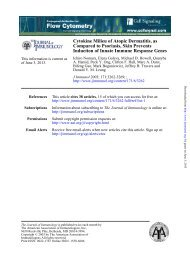 Cytokine Milieu of Atopic Dermatitis, as Compared - The Journal of ...