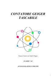 Contatore Geiger tascabile - Ipsia Moretto