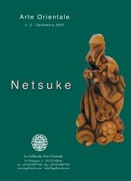 Netsuke - n. 2 - La Galliavola - Arte Orientale