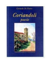 Di Pietro Gerardo Coriandoli (Silloge poetica) - Morreseemigrato.Ch