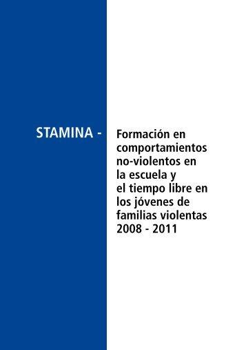 STAMINA - Formación en comportamientos no-violentos en la ...