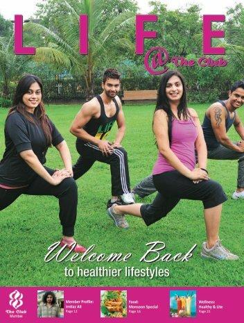 to healthier lifestyles - The Club Mumbai