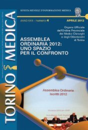 Assemblea Generale Annuale 2012 - TorinoMedica.com