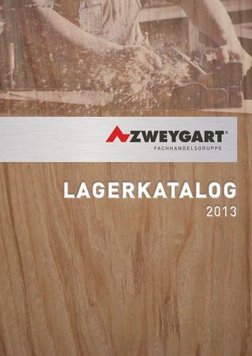 Produktkatalog Betriebseinrichtungen - Zweygart