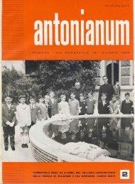 Giugno - Ex-Alunni dell'Antonianum