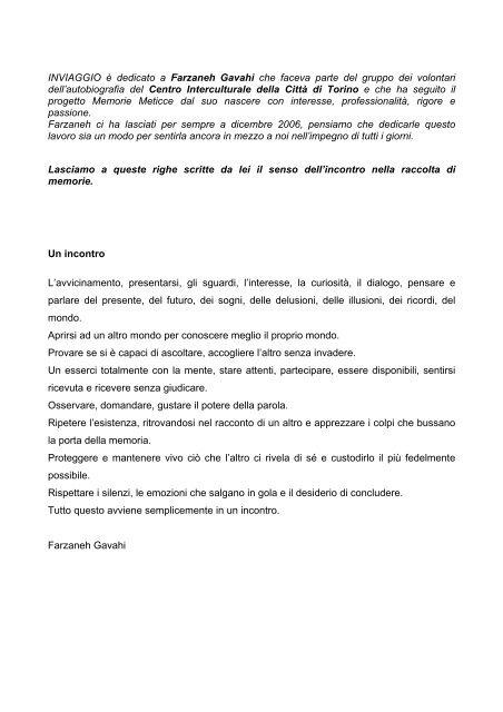 download qui - Città di Torino