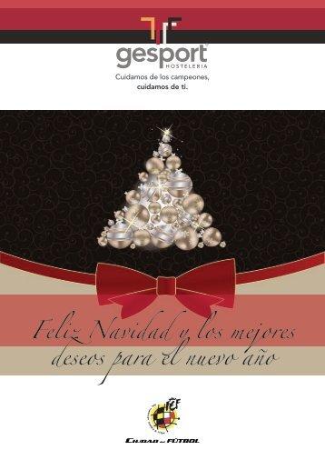 Feliz Navidad y los mejores deseos para el nuevo año - Gesport