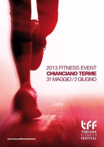 toscana fitness brochure - Comune di Chianciano Terme