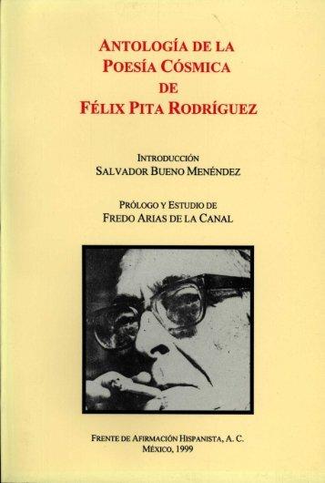 antología de la poesía cósmica de félix pita rodríguez - Frente de ...