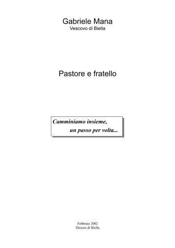 Gabriele Mana Pastore e fratello - Libreria Paoline di Biella