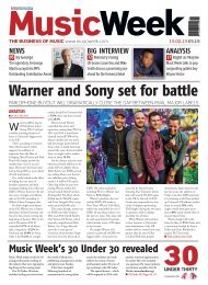 Warner and Sony set for battle - MCV
