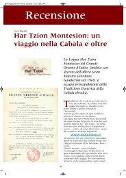RIVISTA ARCO - Har Tzion Montesion