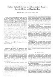 Surface Defect Detection and Classification Based on Statistical ...