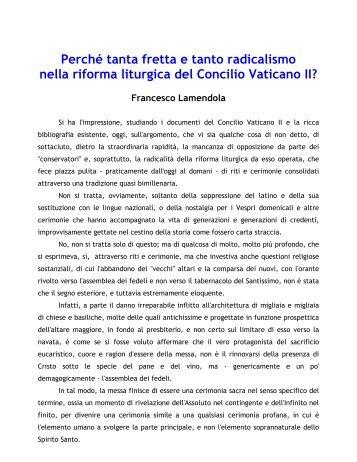 11-Concilio Vaticano II - TerraSantaLibera.org