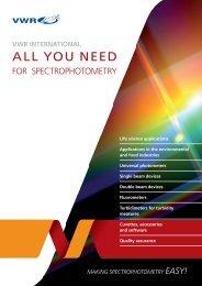 ALL YOU NEED - VWR - VWR International