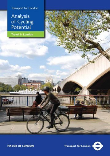 Analysis of Cycling Potential - Transport for London
