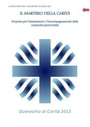 quaresima di carita' 2013 pdf - Webdiocesi