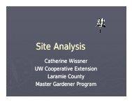 Site Anal sis Site Analysis