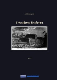 L'Accademia Ercolanese – Ercolano 1709 – 2009 - Vesuvioweb