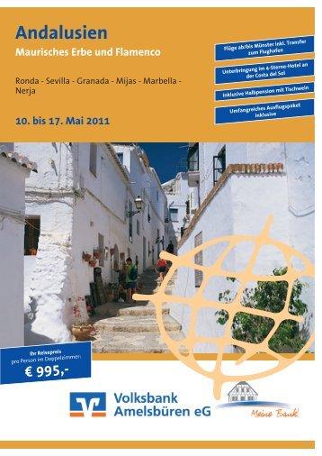 Andalusien - Maurisches Erbe und Flamenco