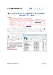 VR-NetWorld Software - Volksbank Beilstein-Ilsfeld-Abstatt eG