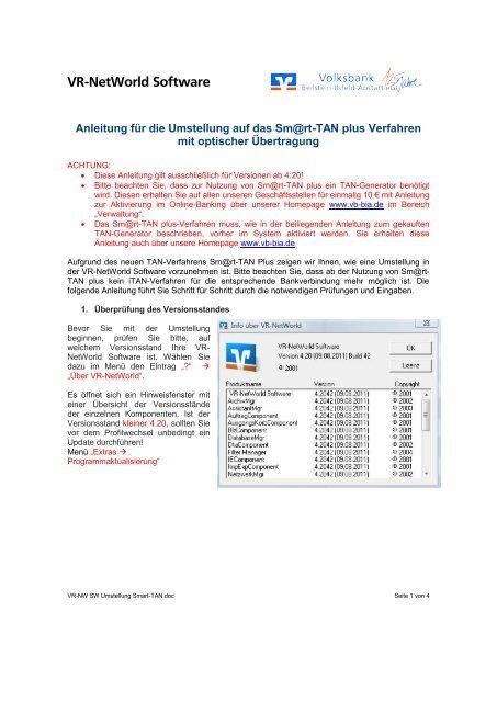 Vr Networld Software Volksbank Beilstein Ilsfeld Abstatt Eg