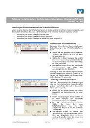 Verfahrenswechsel PIN/TAN - Volksbank Bookholzberg-Lemwerder ...