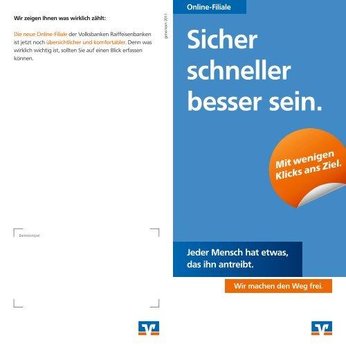 Kurzuberblick Neue Online Filiale Volksbank Bocholt Eg