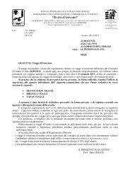 """regolamento viaggi d'istruzione.pdf - Istituto """"Elena Cornaro"""""""