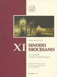Libro Sinodo Diocesano - Lecce360