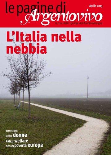 Le Pagine di Argentovivo - N. 4 - Aprile 2013 - Spi-Cgil Emilia ...