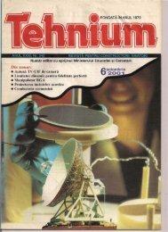 FONDATA IN ANUL 1970 • Antena TV-UIF de camera • Limitator ...